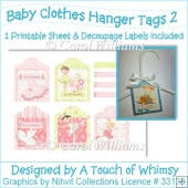 Baby Clothes Hanger Tags 2