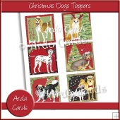 Christmas Dogs Toppers