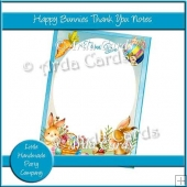 Happy Bunnies Thank You Notes