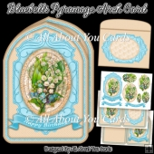 Bluebells Pyramage Arch Card