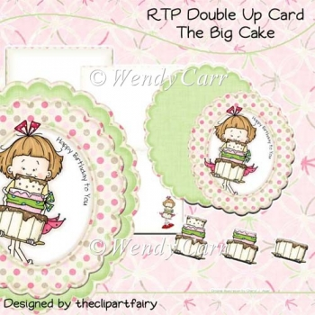 RTP Double Up Card - The Big Cake(Retiring in August)