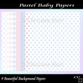 Pastel baby Papers CU