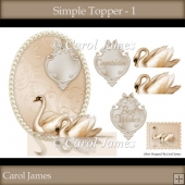 Simple Toppers - 1