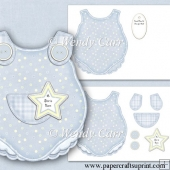 RTP Baby Boy Romper Suit Card(Retiring in August)