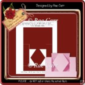 T006 Diamond Center StepperTemplate PDF & PNG