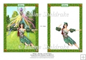 Beltane May Day Blessings - A5 Card Topper & Decoupage