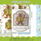 Fishing Easel Card