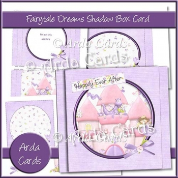 Fairytale Dreams Shadow Box Card
