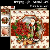 Bringing Gifts - Layered Card