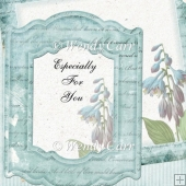 RTP Shabby Chic - Floral Frames 6(Retiring in August)