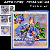 Summer Morning - Diamond Panel Card