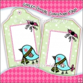 Doodle Christmas Gift Tags - Ref T692 & Ref T693