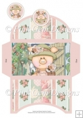 Lady Piggin' Gardening Money Wallet
