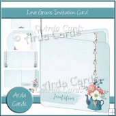 Love Grows Invitation Card