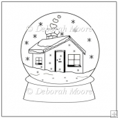 Snowglobe Digital Stamp
