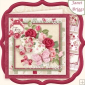 MY FAIR LADY 7.5 Decoupage & Insert Kit