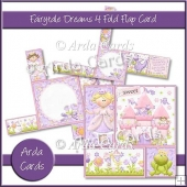 Fairytale Dreams 4 Fold Flap Card