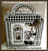 Old Fashion Wishes Father's Day Gift Bag