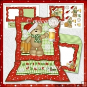 Easel Card Kit : Christmas Cheers