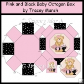 Pink and Black Baby Octagon Box Set