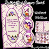 Butterflies Cameo Card
