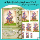 A Little Birthday Magic Easel Card