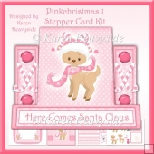 Pinkchristmas 1 Stepper Card Kit