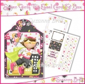 Super Girly Tag Easel Card