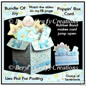Bundle of Joy Poppin' Box Card