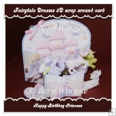 Fairytale Dreams 3D Wrap Around Card