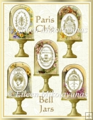 Paris Chic Diecut Bell Jar Vintage Collage Embellishements