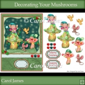 Decorating Your Mushrooms