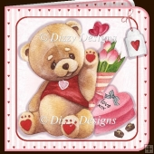 My Beary Special Valentine Card Kit