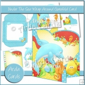 Under The Sea Wrap Around Gatefold Card