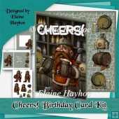 Cheers Birthday Card Kit