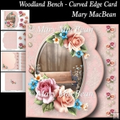 Woodland Bench - Curved Edge Card