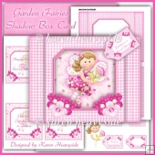 Garden Fairies Shadow Box Card