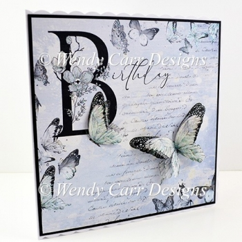 BEAUTIFUL BUTTERFLIES CARD