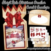Sleigh Ride Christmas Cracker Card & Envelope