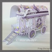 Violet Wagon Gift Box