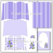Purple Petunia Book Set