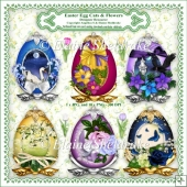 Easter Eggs & Flowers - Designer Resource