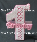 1st Split Birthday TF0023, SVG, MTC, CAMEO, CRICUT, ScanNCut