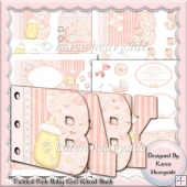 Tickled Pink Baby Girl Word Book