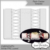 CU4CU Party Cracker Template Instant Download 300dpi Printable