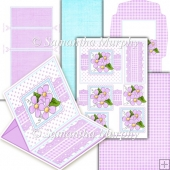Daisy Blooms PDF Easel Card Download