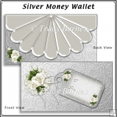 Silver Money/Gift Voucher Wallet