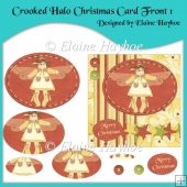 Crooked Halo Christmas Card Front 1