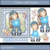 Chloe With Daisies