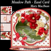 Meadow Path Easel Card